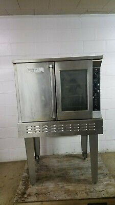 Royal Rang Rco-1 Full Size Convection Oven Nat Gas 120 Volts 1 Phase Tested