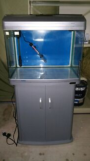 Aqua one fish tank and stand complete tropical set up Werribee Wyndham Area Preview