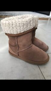 Girl Ugg style boots. Size 11
