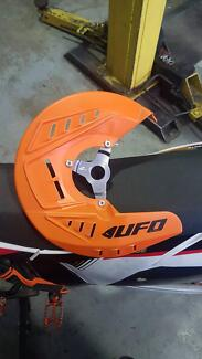 Ufo KTM front disc guard!As new!