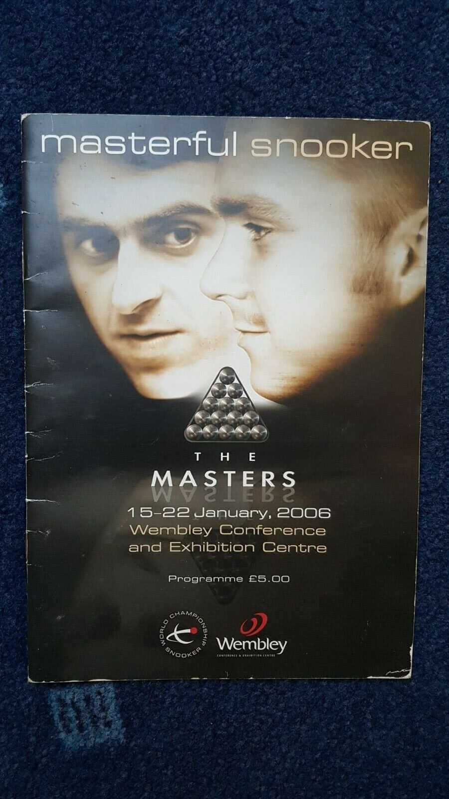 Masters Snooker 2006 Programme - Signed by Shaun Murphy