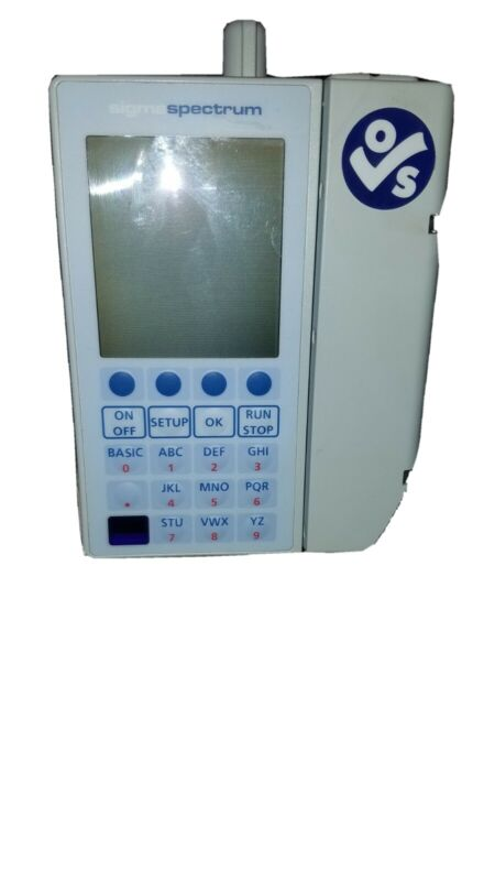 Baxter Sigma Spectrum Infusion Pump v6.05 with Battery  ac adapter