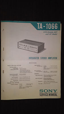 Sony Service Manual~TA-AX360 Amplifier//AMP~Original~Repair