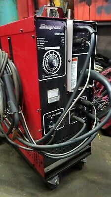 Used Snap-on Mig Welder Mm 250 Sl W Cords Mm250sl