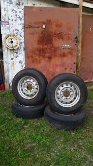 Miysubishi wheels & tyres Woonona Wollongong Area Preview