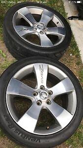 "HSV genuine Holden 18"" CV8Z 2 rim tyres only two rim $600 Noble Park Greater Dandenong Preview"