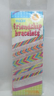 Liesure Arts Make 5 Friendship Bracelet Kit - 5 Floss Colors