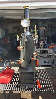 Live Steam Boiler Hand Pump Whistle Gauge Steam Engine Watch Video