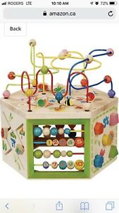 Activity Cube - Ever Earth 7 in 1 Activity Cube