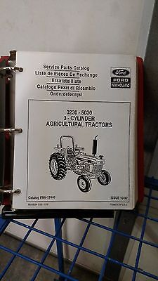 Ford New Holland 3230 - 5030 Tractor Parts Catalog Manual Fnh-17440