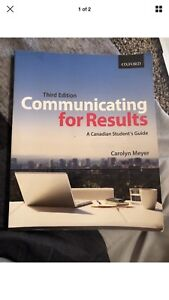 Communicating for results textbook