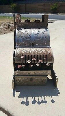 Antique Michigan No. 7 Small Candy Nickel Finish Cash Register, Parts  for sale  Folsom