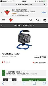 Portable Shop Heaters