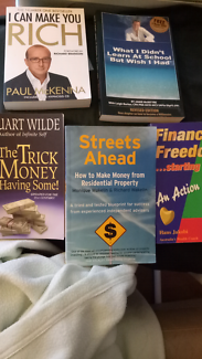 6 Financial Books for $50