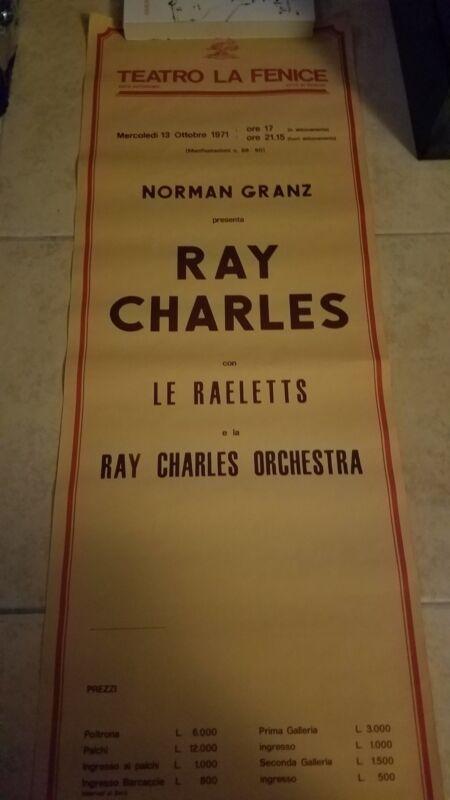 teatro la fenice ray charles orchestra