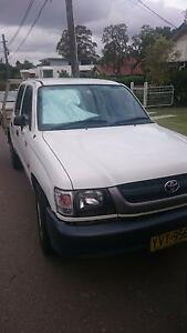 2003 Dual Cab Toyota Hilux Ute Epping Ryde Area Preview