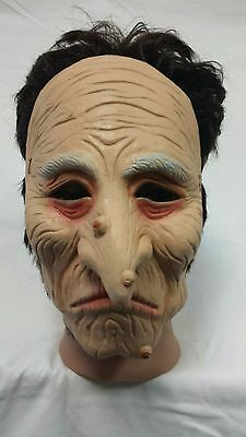 Old Witch Halloween Latex Mask Adult Costume Fancy Dress Party - Witch Latex Mask