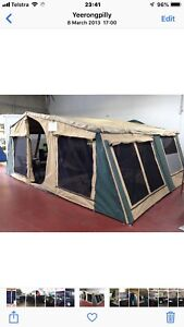 """Off Road Delux Camper Trailer with 16"""" Wheels"""