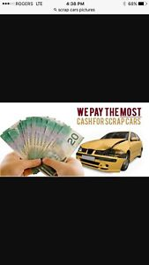 Towing we buy scraps car and truck we pay cash $$$$$$
