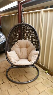 Outdoor Hanging Egg Chair Smithfield Playford Area Preview
