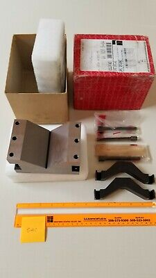 Starrett 578 Extra Large V-block And Clamp Set - Exc Condition - Free Shipping