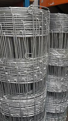 Galvanised Stock Fence L10/120/15  (50mtr roll) - 1.2mtr high - Quality Wire