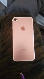 iPhone 7 Rose Gold 32gig