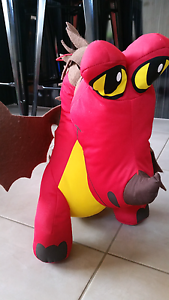 How To Train Your Dragon Red Dragon Stuff Toy. Approx. 45cm tall Yarraville Maribyrnong Area Preview