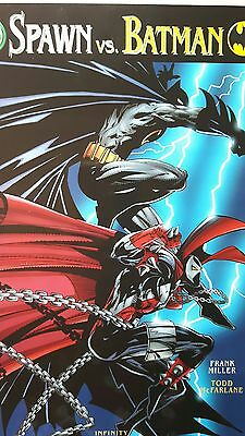 Spawn vs. Batman * Prestige * Embossed * 1. Auflage 1997