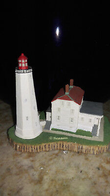 "Lighthouse Miniture Sandy Hook NJ (4"" tall)"