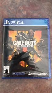 Brand new black ops 4 PS4