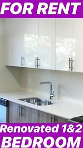 Stylish Renovated 1 and 2 bedroom apartments for RENT