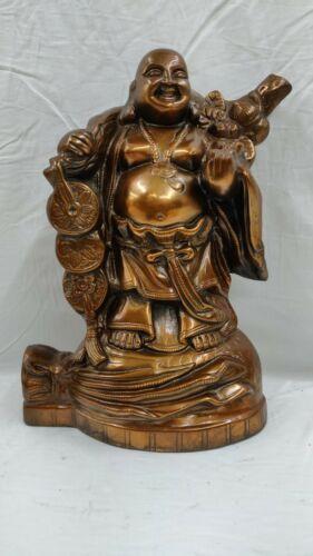 Laughing Buddha Statue Bronze Buddha Sculpture Large Buddha Home Decor Gift