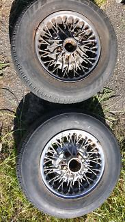 Genuine Wire Spoke Wheels