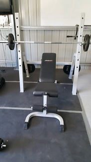 Avanti Weight Rack and Incline Bench