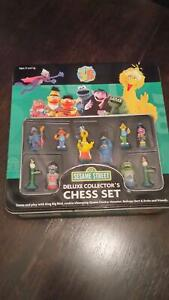 Sesame Street chess set