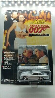 "1998 Johnny Lightning ""James Bond 007"" GoldenEye Die-Cast Car"
