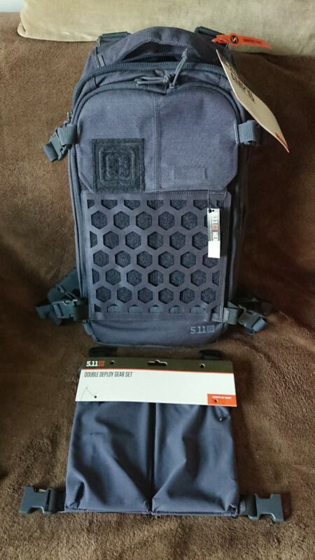 5.11 Tactical AMP10 Backpack Convertible Sling Pack Tungsten w/ Double Deploy