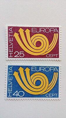 SWITZERLAND - MNH - 1973 - Europa - 2/2 v