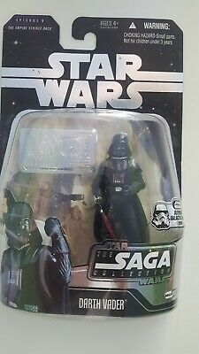 Star Wars Darth Vader Saga Collection Galactic Hunt with Silver Plack