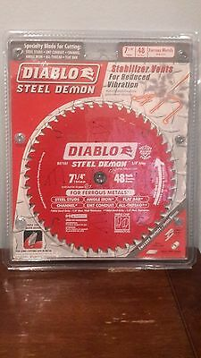 Freud D0748F 7-1/4 in. x 48 Tooth Steel Demon Metal Cutting Saw Blade *New*