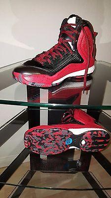 5b6574df131e Adidas D Rose 5 Boost Red Black White Men s Basketball Size 10