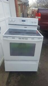 Maytag glass-top stove (can deliver)