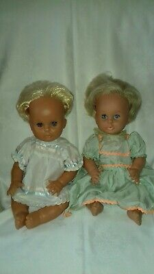 "Vintage ""My True Love"" Baby Dolls x 2, Similar to Tiny Tears, TLC."