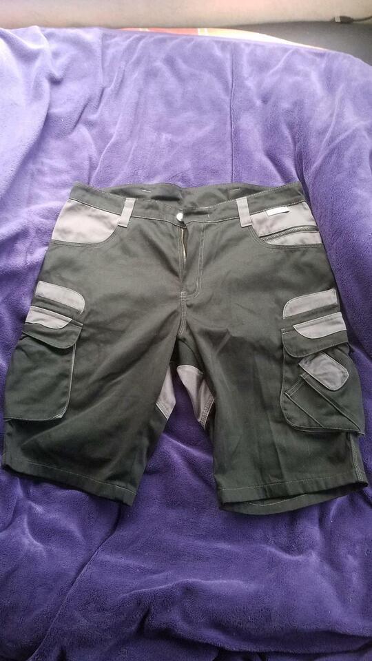 Pionier kurze Arbeitshose Bermuda Shorts 52 schwarz grau in Ibbenbüren