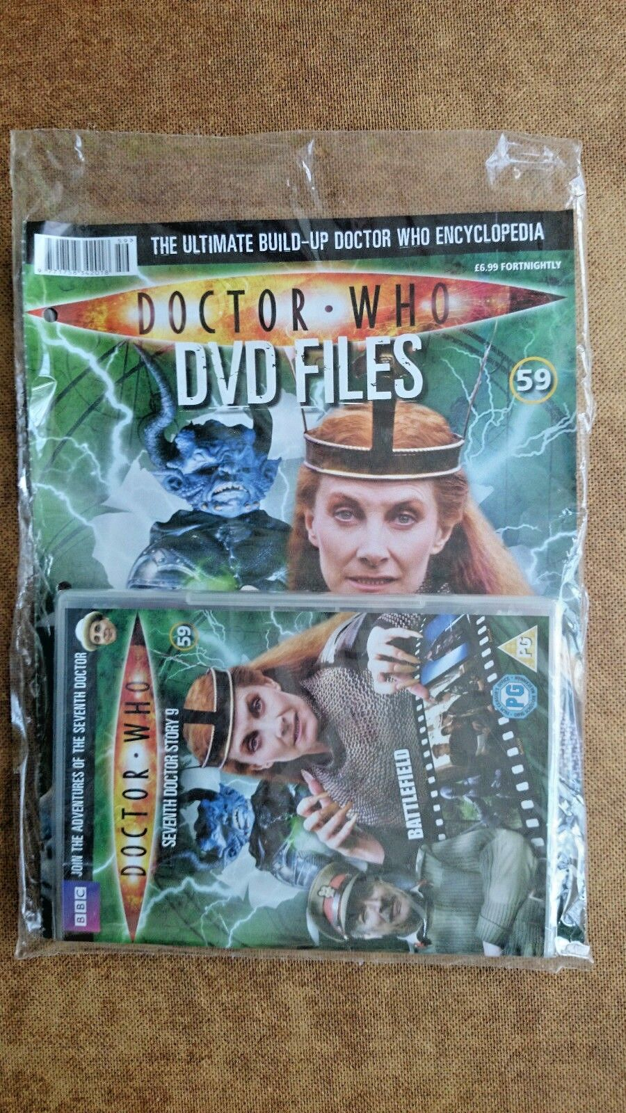 Doctor Who Battlefield DVD New and Sealed with Magazine ...Sylvester McCoy.