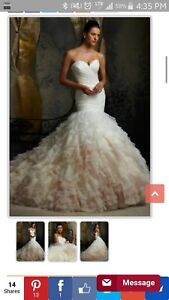 Stunning morilee wedding dress