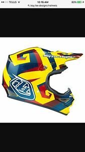 Troy lee designs helmet size medium and instinct boots size 12