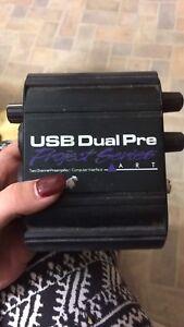 USB Dual Preamplifier