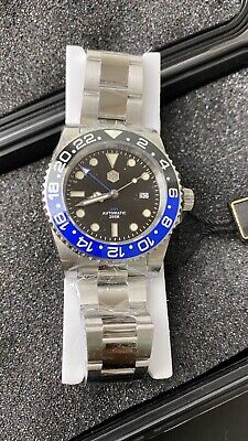 San Martin GMT Diver Batman Automatic Watch